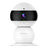 联想 1080P高清智能摄像机 远程安防监控夜视网络摄像头 360度磁吸结构  无线wifi 看家宝snowman