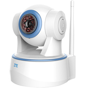 中兴 小兴看看Blue 云存储免费 360°智能网络摄像机 wifi无线监控摄像头 看家看店 高清夜视