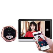 移康智能(eques) R22P 电子猫眼 手机监控WIFI 移动侦测 门铃可视 家用 别墅门铃