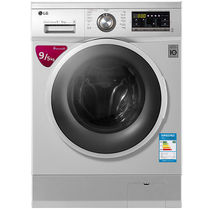 LG WD-BH455D2 9公斤 DD变频 滚筒 洗烘一体洗衣机 静音 LED触摸屏 洁桶洗 6种智能手洗(奢华银)产品图片主图