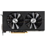 蓝宝石 RX470 8G D5 超白金 OC 1206-1260MHz/8000MHz 8GB/256bit GDDR5 DX12 VR游戏显卡