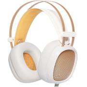 第一印象 G20高保真头戴式监听级电竞游戏耳机 有麦带七彩灯光  白色