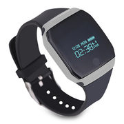 纽曼  S7 智能手环 来电信息提醒 记步游泳单车多运动模式 微信互联 灰色
