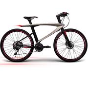 乐视 超级智能自行车 西夫拉克 金色