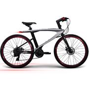 乐视 超级智能自行车 斯塔利 银色