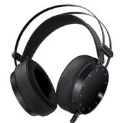 第一印象 G26 头戴式电脑耳麦 电竞游戏耳机 高保真立体声 带麦克风 带振动 黑色