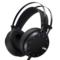 第一印象 G26 头戴式电脑耳麦 电竞游戏耳机 高保真立体声 带麦克风 带振动 黑色产品图片2