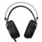 第一印象 G26 头戴式电脑耳麦 电竞游戏耳机 高保真立体声 带麦克风 带振动 黑色产品图片4