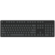 Ikbc c104 樱桃轴机械键盘 104键原厂Cherry轴 黑色 红轴