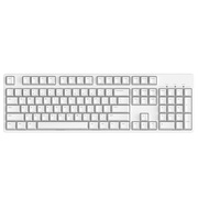 Ikbc c104 樱桃轴机械键盘 104键原厂Cherry轴 白色 红轴