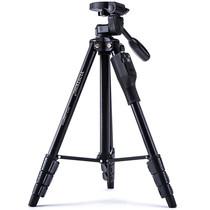云腾 VCT-1368RM 手机蓝牙遥控三脚架 微单数码相机摄像机自拍用 优质铝合金超轻便携三角架黑色产品图片主图