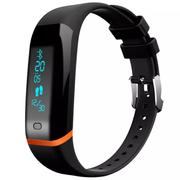 天诺思 X12 智能手环 心率手环 来电震动提醒 睡眠监测 信息推送 计步 防水 专业运动手环 黑色