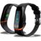 天诺思 X12 智能手环 心率手环 来电震动提醒 睡眠监测 信息推送 计步 防水 专业运动手环 黑色产品图片2