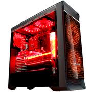 长城 魔镜M-12H电竞游戏机箱加强版黑色(水冷/全侧透/独立电源仓/磁吸防尘)