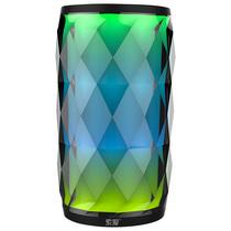 索爱 S-75 LED炫彩灯蓝牙音箱 便携插卡音响 低音炮 蓝牙4.0 黑色产品图片主图