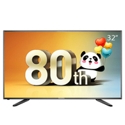 熊猫  LE32F66 U派32英寸 夏普技术屏高清蓝光LED液晶电视(黑色)