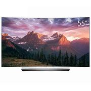 LG OLED55C6P-C 55英寸 HDR 广色域 4K不闪式3D 智能超薄 曲面OLED电视