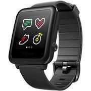 Weloop 唯乐小黑3智能运动心率手表 触控彩屏 防水游泳 心率检测 来电微信显示 睡眠监测 运动计步手环 黑色