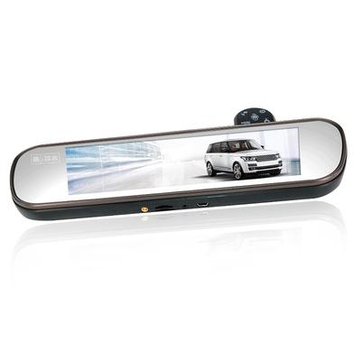 平安一号 Q806 智能云镜行车记录仪声控导航电子狗测速一体机前后双录倒车影像支持蓝牙FM产品图片5