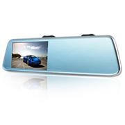 平安一号 Q100 2K高清后视镜智能行车安全记录仪 双镜头 安全辅驾