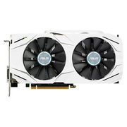华硕 DUAL-GTX1060-O6G 1569-1809MHz 6G/8GHz GDDR5 PCI-E3.0显卡
