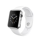 苹果 Apple Watch Series 2 银色铝金属表壳白色运动型表带 42毫米