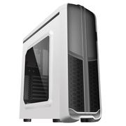 至睿 蜂巢GX60 白色游戏电脑机箱(USB3.0、长显卡、大侧透、支持走背线)