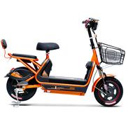 小刀 电动车 TDT-1532Z 新款48V20AH电动自行车 时尚踏板代步车小叮当A哑光炫橙