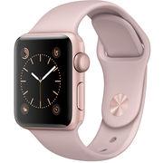 苹果 Watch Sport Series 2智能手表(38毫米玫瑰金色铝金属表壳搭配粉砂色运动型表带)
