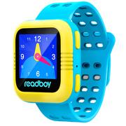 读书郎 W2s 智能手表 儿童电话手表 GPS定位防丢失手环 360智能防护安全电话手表手机 天空蓝