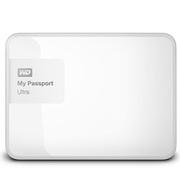 西部数据 My Passport Ultra 升级版 4TB 2.5英寸 闪耀白 移动硬盘 BBKD0040BWT