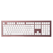 富勒 圣甲龙 SM700 炫光游戏机械键盘 棕色 红轴