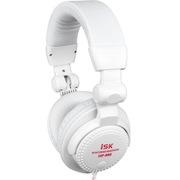 isk HP-966 监听耳机 白色 时尚轻便 可折叠单耳监听