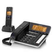 摩托罗拉 电话机 C7501RC 插卡录音子母机 来电语音报号中文显示橙色背光免打扰固定座机