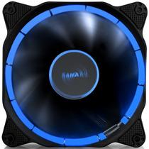 先马 光环 12CM蓝光 机箱风扇 (环形光圈/小3拼+大四拼接口/电竞氛围/低噪音/高效散热/阻燃)产品图片主图
