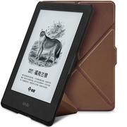 柏图 适配Kindle 558版保护套/壳 全新Kindle电子书休眠皮套 折叠支架系列 商务棕