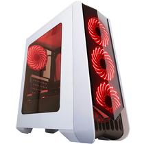 撒哈拉 走线大师GF6 透视厚板材游戏机箱 白色(大侧透/分体式五金/支持ATX大板)产品图片主图