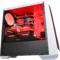 撒哈拉 走线大师GF6 透视厚板材游戏机箱 白色(大侧透/分体式五金/支持ATX大板)产品图片4
