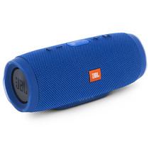 JBL Charge3 音乐冲击波3 蓝牙小音箱 音响 低音炮 移动充电 防水设计 支持多台串联 便携迷你音响 深湖蓝产品图片主图
