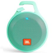 JBL Clip+ 音乐盒升级版 蓝牙便携音箱 音响 户外迷你小音响 音箱 防水设计 高保真无噪声通话 青春绿