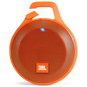 JBL Clip+ 音乐盒升级版 蓝牙便携音箱 音响 户外迷你小音响 音箱 防水设计 高保真无噪声通话 活力橙