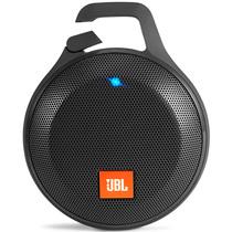 JBL Clip+ 音乐盒升级版 蓝牙便携音箱 音响 户外迷你小音响 音箱 防水设计 高保真无噪声通话 爵士黑产品图片主图