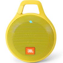 JBL Clip+ 音乐盒升级版 蓝牙便携音箱 音响 户外迷你小音响 音箱 防水设计 高保真无噪声通话 柠檬黄产品图片主图