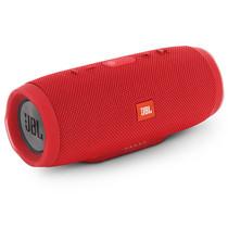 JBL Charge3 音乐冲击波3 蓝牙小音箱 音响 低音炮 移动充电 防水设计 支持多台串联 便携迷你音响 魂动红产品图片主图