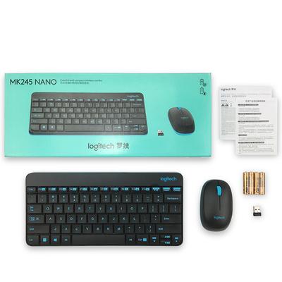 罗技 无线键鼠套装 MK245 Nano(黑色)产品图片5