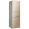 美菱 BCD-218WE3CX 218升 风冷无霜 电脑控温 节能静音 宽幅变温 时尚三门冰箱(金)产品图片2