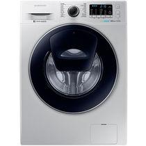三星 WW80K5210VS/SC 8公斤 安心添 泡泡净 智能变频滚筒洗衣机 银色产品图片主图