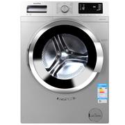 澳柯玛 XQG80-B1279SK 8公斤 变频滚筒洗衣机 LED显示屏 (银色)
