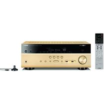 YAMAHA RX-V681 家庭影院 音响 7.2声道AV功放机 支持杜比全景声/DTS:X/蓝牙/wifi/HDCP2.2 金色产品图片主图