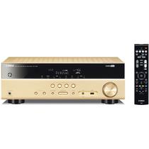 YAMAHA RX-V381 家庭影院5.1声道(5*135W)AV功放机 HDCP 2.2/USB接口 金色产品图片主图